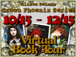 "Alison DeLuca's ""Crown Pheonix"" Virtual Book Tour"