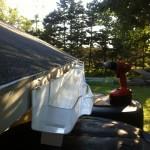 Rainwater Catchment - New rain gutter
