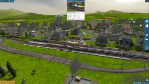 Train Fever: A moderately busy day in Chertsey