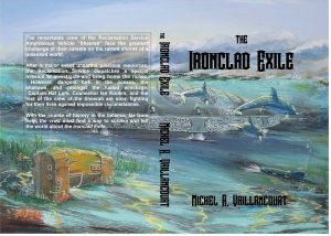 Trade Paperback Cover: the Ironclad Exile