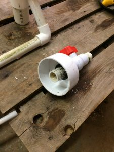 Grow-pipe End-cap