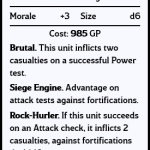 Siege Giant Stat Card
