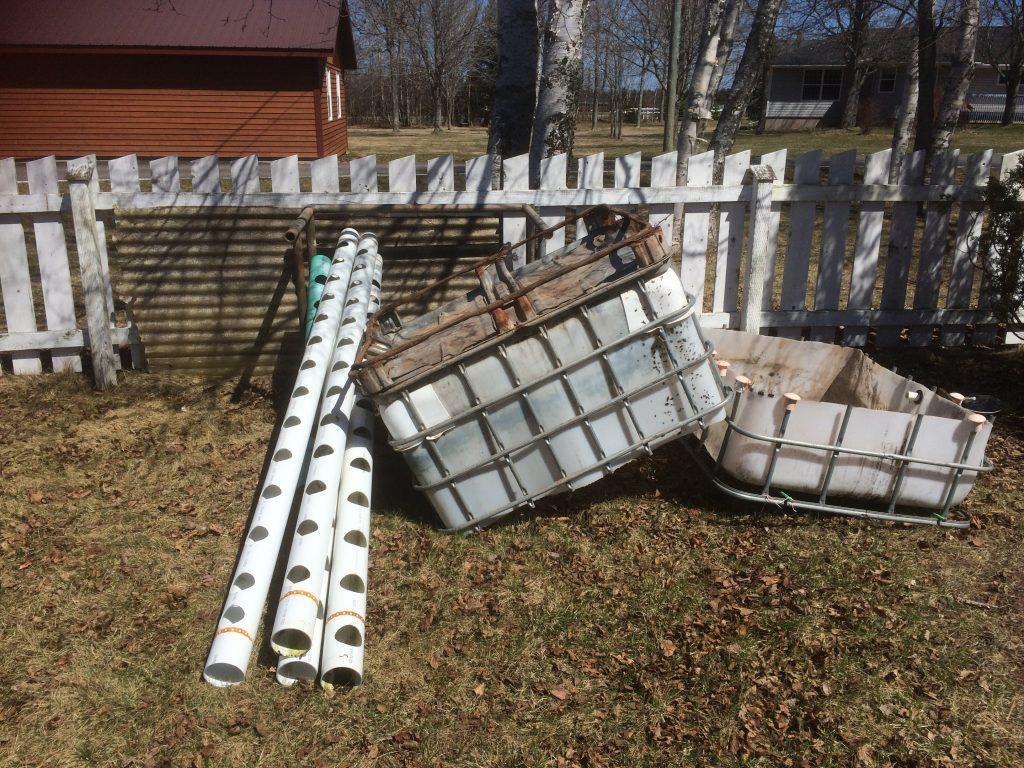 2018 Backyard Aquaponics Primary Parts