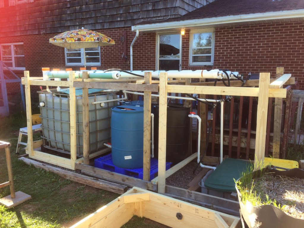 2019 Backyard Aquaponics System Revision 1 After Rebuild